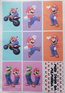 Jogo da memória Mario 1