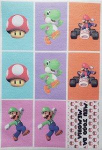 Jogo da memória Mario 2
