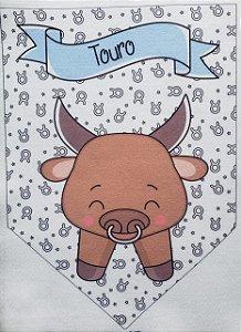 Flamula Signo com desenho Touro