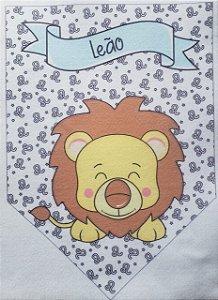 Flamula Signo com desenho Leão