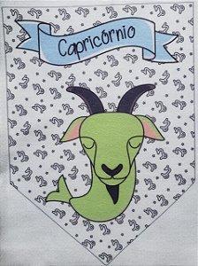 Flamula Signo com desenho Capricórnio