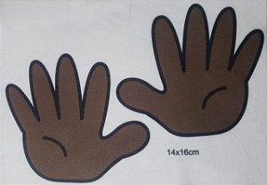 Livro didático / sensorial Mão - Ensinando a contar de 1 a 10