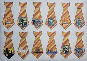 Gravatinhas Pet - Harry Potter Símbolos