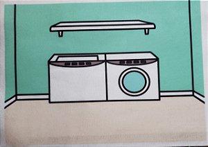 Comodo lavanderia Bonequinha de vestir