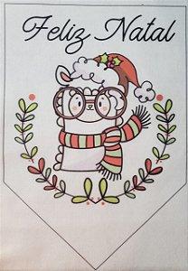 Flamula Lhama Feliz Natal 1