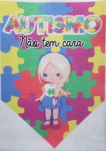 Flamula o Autismo não tem cara menina 1