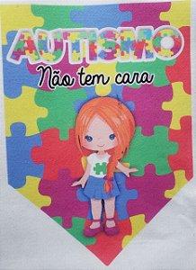 Flamula o Autismo não tem cara menina 2