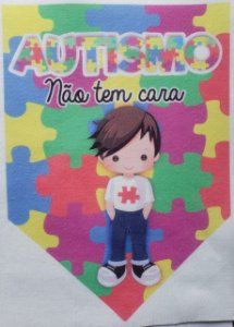 Flamula o Autismo não tem cara menino 5
