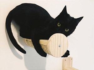 Meia prateleira-arranhador para gatos