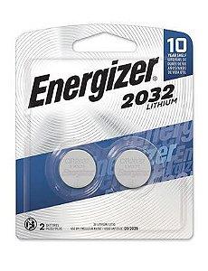 Bateria 2032 3V Lithium 12 Pacotes com 2 Unidades Energizer