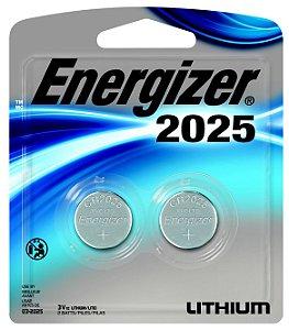 Bateria 2025 3V Lithium 12 Pacotes com 2 Unidades Energizer