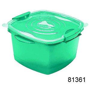 Pote Plástico Super Click 1,6 Litros 6 Unidades Starlux