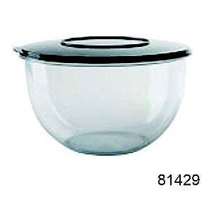 Saladeira Redonda Acrílico 3,5 Litros 3 Unidades Starlux