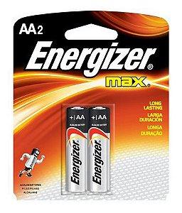 Pilha Max-SM Pequena AA2 40 Pacotes Com 2 Unidades Energizer