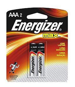 Pilha Max-SM Palito AAA2 40 Unidades Com 2 Unidades Energizer