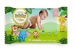 Toalha Umedecida Zoo 12 Pacotes Com 50 Unidades Isababy