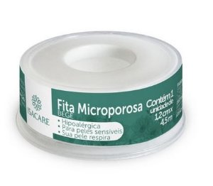 Microporosa Bege 1,2CM X 4,5 MTS 12 Unidades Isacare