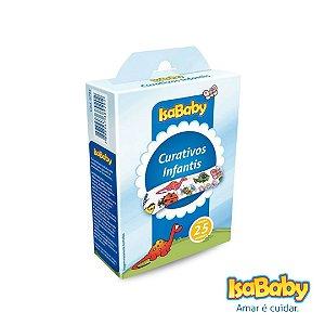 Curativo IsaBaby Infantil 25 Unidades ( Com estampas divertidas )
