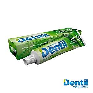 Creme Dental Dentil Herbal c/ Flúor 180g  ( contém flúor e cálcio )