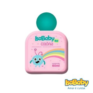 Colônia IsaBaby Bu Rosa 60ml ( Pode ser usado todos os dias )...