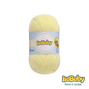 Lã IsaBaby Cisne 40g Amarela (Trata-se de uma linha 100% acrílica)