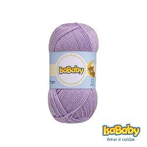 Lã IsaBaby Cisne 40g Lilás ( Trata-se de uma linha 100% acrílica )