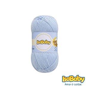 Lã IsaBaby Cisne 40g Azul ( Trata-se de uma linha 100% acrílica )