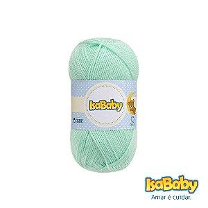 Lã IsaBaby Cisne 40g Verde ( Trata-se de uma linha 100% acrílica )