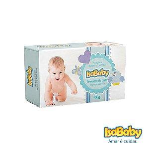 Sabonete Infantil Hidratante IsaBaby Proteinas do Leite 80g (loção)