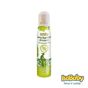 Repelente Spray Isababy Aloe Vera 100ml ( protege por até 4h )...