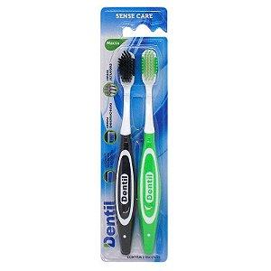 Escova Dental Dentil Sense Care Macia 2 Unidades