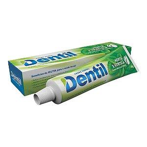 Creme Dental Dentil Menta e Hortelã c/ Xilitol (sem flúor) 90grs.