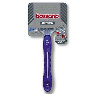 Aparelho de Barbear Bozzano Matrix 3 Lâminas