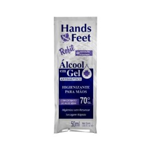 Alcool Em Gel Sache Hands And Feet 50ml