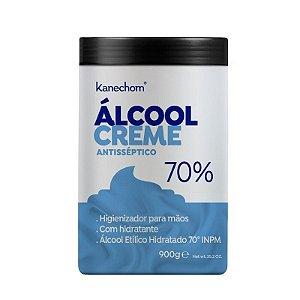 Kanechom Álcool Creme Hidratante  Antisséptico Para Mãos 900g