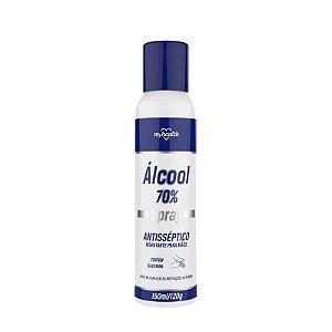 Alcool Spray Antisseptico Hidratante para Maos 150ml