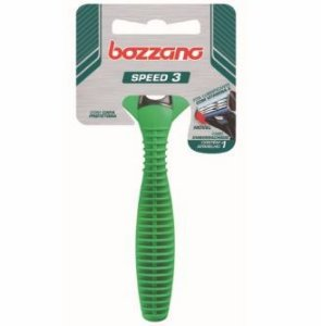 Aparelho de Barbear Bozzano Speed 3 Lâminas ( Cabo Emborrachado )