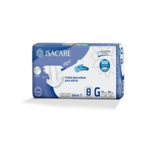 Fralda Premium Intensa Isacare Adulto Regular G