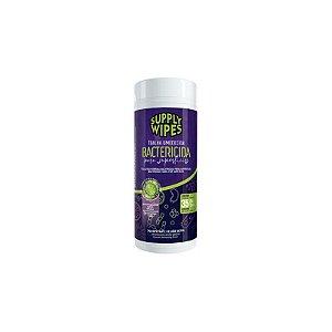 Lenço Umedecido Antisséptico Supply Wipes Bactericidas 35un