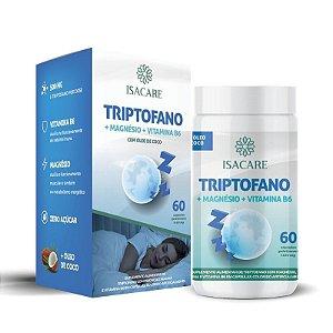 Vitamina B6 + Triptofano + Magnésio  60 Caps Isacare