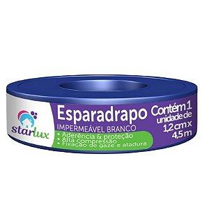 ESPARADRAPO IMPERMEAVEL BRANCO STARLUX 1,2CMX4,5MTS