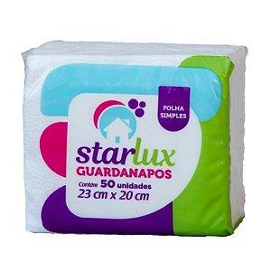 GUARDANAPO STARLUX 23X20CM 50 FOLHAS