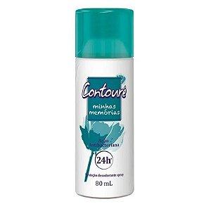 Desodorante Spray Contoure Memórias 80ML (Protege Contra os Odores)