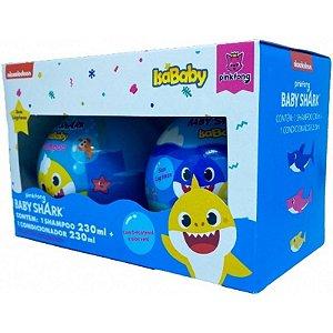 Kit Shampoo+Condicionador 230ML Pack Promocional Baby Shark Isababy