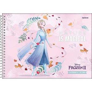 Caderno Disney Frozen Espiral Cartografia 80 Folhas –  StarSchool