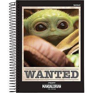 Caderno Disney Mandalorian  10 Matérias  160 Folhas –  StarSchool