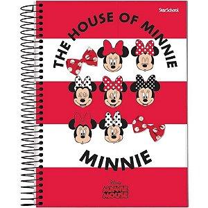 Caderno Universitário Disney Minnie 10 M 160 Folhas –  StarSchool