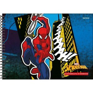 Caderno Disney Spider Espiral Cartografia 80 Folhas –  StarSchool
