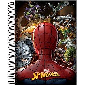 Caderno Universitário Disney Spider 10 M 160 Folhas  – StarSchool