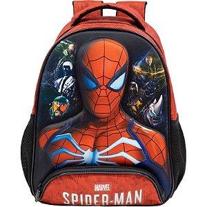 Mochila Infantil Spider Man Disney Estampada  –  Linha StarSchool